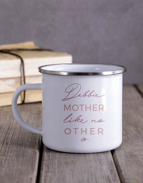 anniversary: Personalised Mother Like No Other Camper Mug!