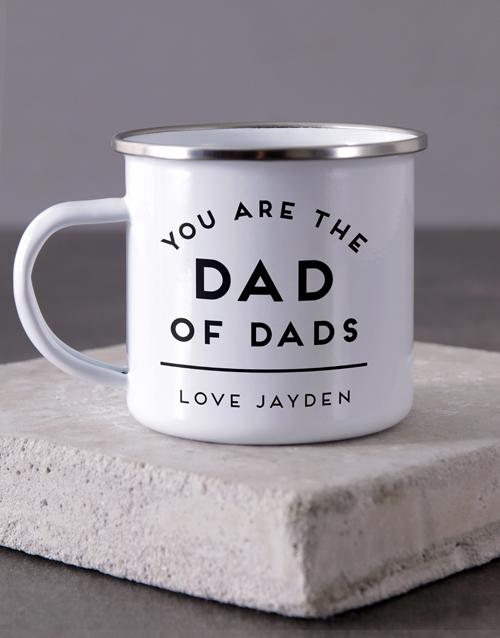 anniversary: Personalised Dad Of Dads Camper Mug!