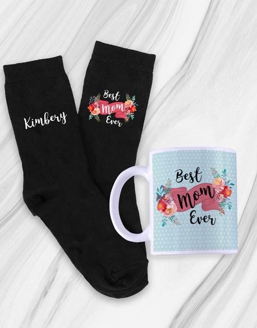 apparel: Personalised Mom Socks & Mug !
