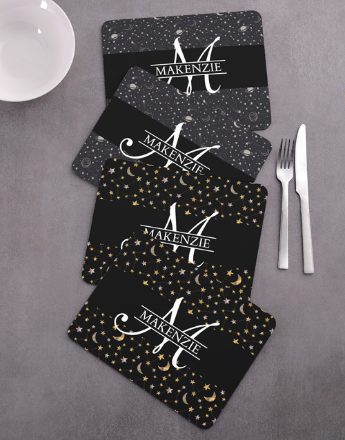 personalised: Personalised Stars Placemat Set!