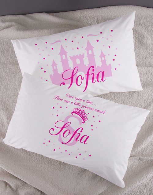 kids: Personalised Princess Pillowcase Set!