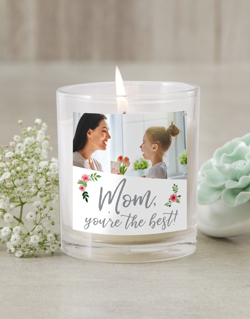 bath-and-body: Personalised Mom Photo Candle!