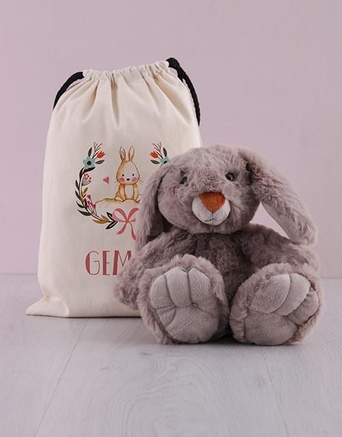 easter: Personalised Bunny in a Bag Bundle!