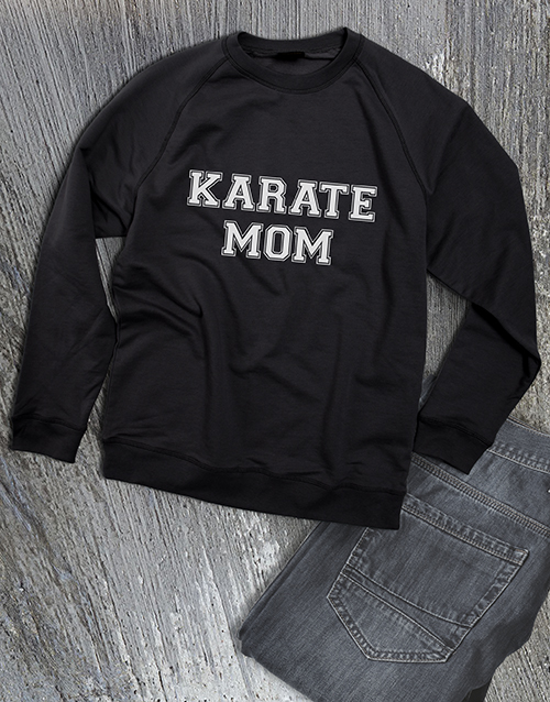personalised: Personalised Activity Mom Sweatshirt!