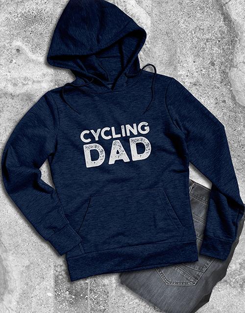 personalised: Personalised Cycling Dad Hoodie!