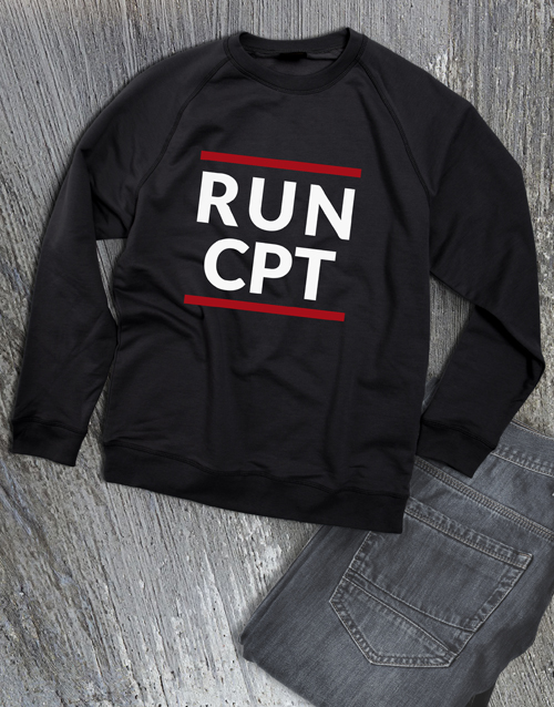 personalised: Personalised Modern Run Sweatshirt!