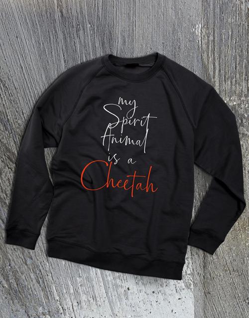 personalised: Personalised Spirit Animal Ladies Sweatshirt!