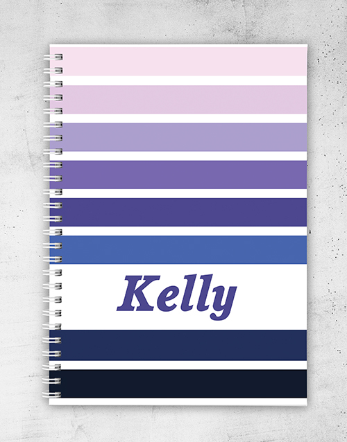mothers-day: Personalised Rainbow Notebook!