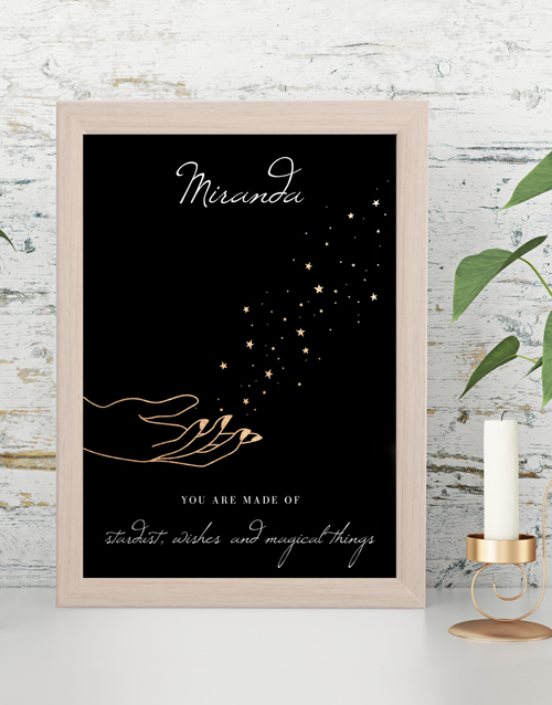 home-decor: Personalised Made of Wishes Wall Art !