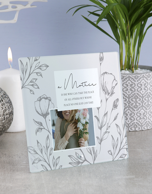 mothers-day: Personalised Mother Glass Tile!