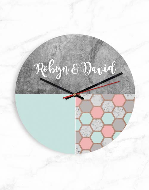 personalised: Personalised Shapes Clock!