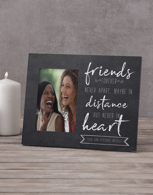 home-decor: Personalised Friends Forever Photo Frame!