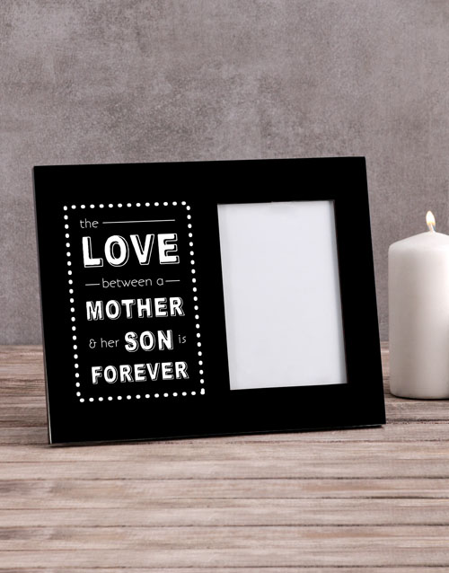 home-decor: Personalised The Love Between A Mother Photo Frame!