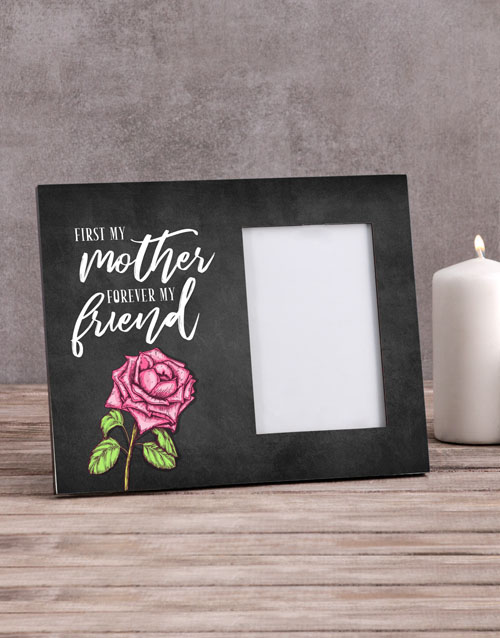home-decor: Personalised Mother Forever Friend Photo Frame !