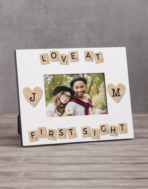 home-decor: Personalised Love At First Sight Photo Frame!