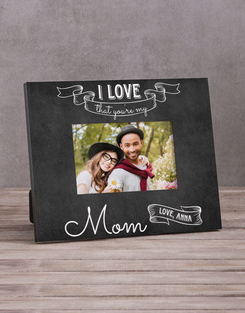 home-decor: Personalised My Mom Photo Frame!