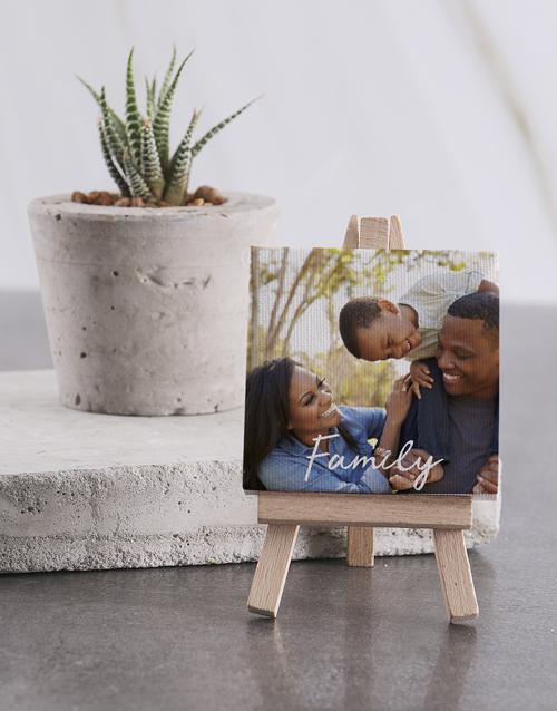 personalised: Personalised Family Mini Canvas !