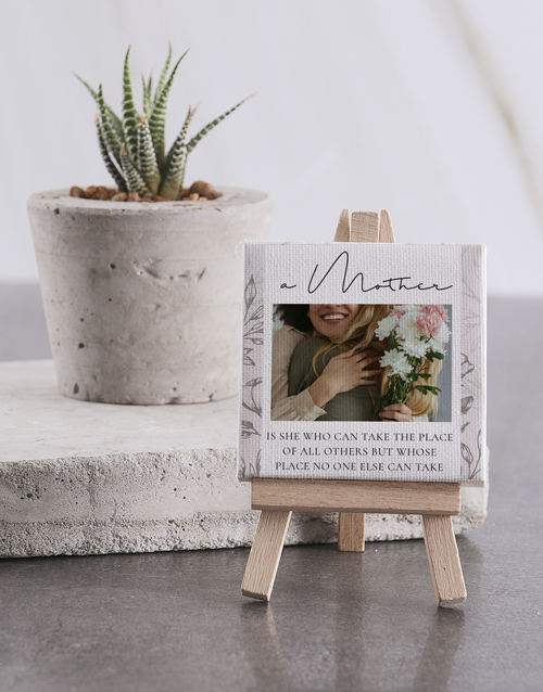 home-decor: Personalised A Mother Mini Canvas!