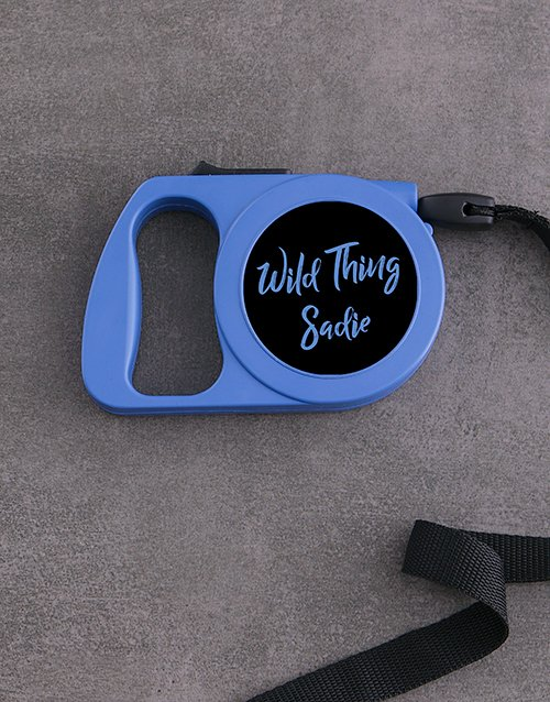 personalised: Personalised Wild Thing Retractable Dog Lead!