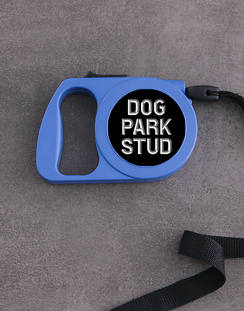 personalised: Personalised Little Dude Retractable Dog Lead!