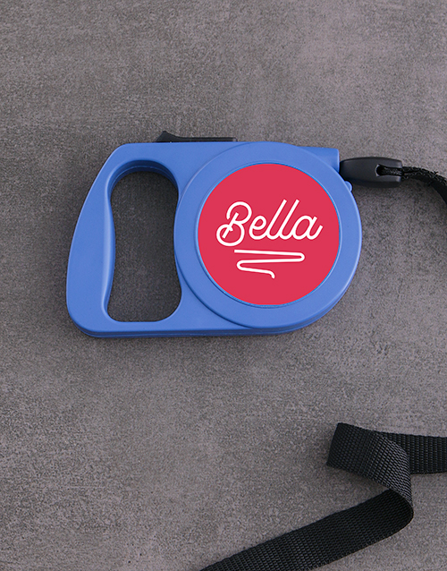 personalised: Personalised Classy Retractable Dog Lead!