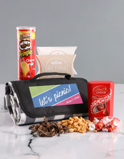 christmas: Personalised Lets Picnic Blanket!
