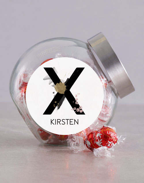 chocolate: Personalised Abstract Candy Jar!