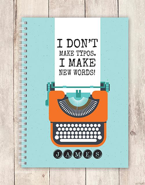 personalised: Personalised New Words Notebook!