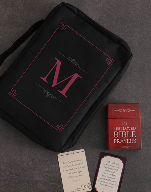faith: Personalised Bible Case And Cards Of Hope!