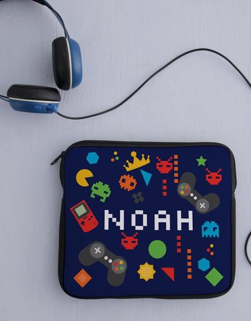 kids: Personalised Gaming Zone Tablet Sleeve!