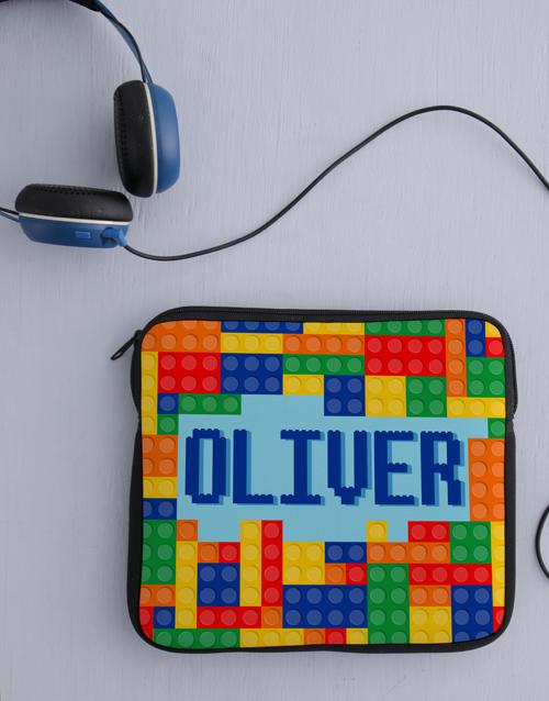 kids: Personalised Neoprene Lego Tablet Cover!