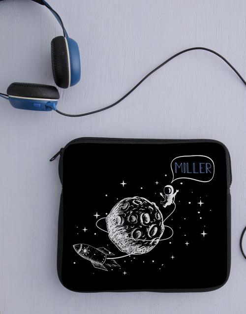 personalised: Personalised Neoprene Space Tablet Cover!