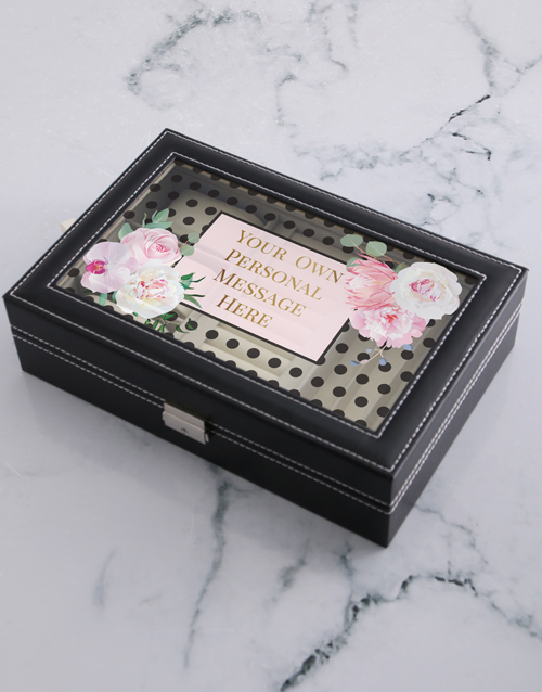 mothers-day: Personalised Message Jewellery Holder!