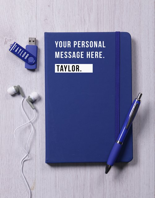 birthday: Personalised Blue Tech Set !