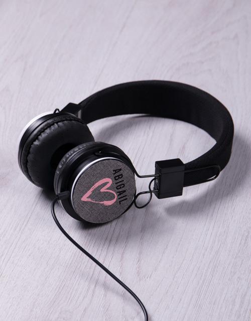 anniversary: Personalised Love Headphones!