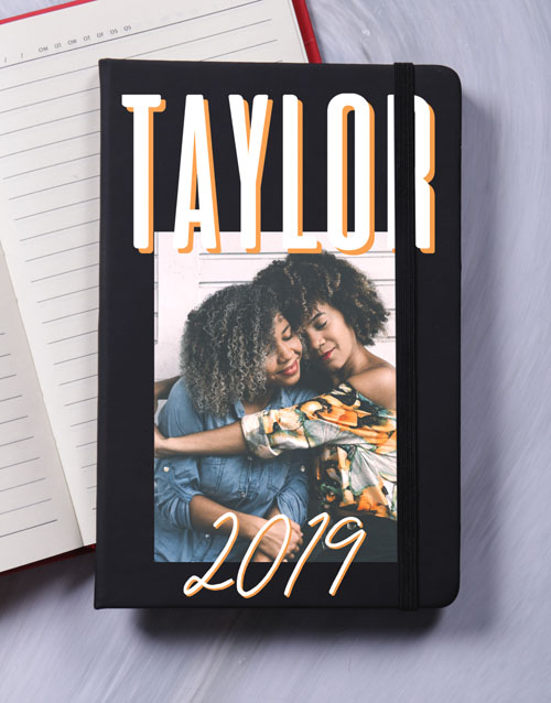 anniversary: Personalised Photo Layout A5 Notebook!
