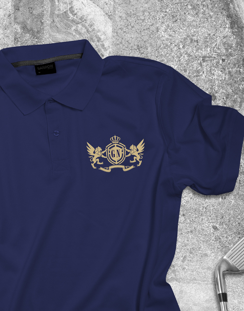 clothing: Personalised Coat of Arms Polo Shirt !