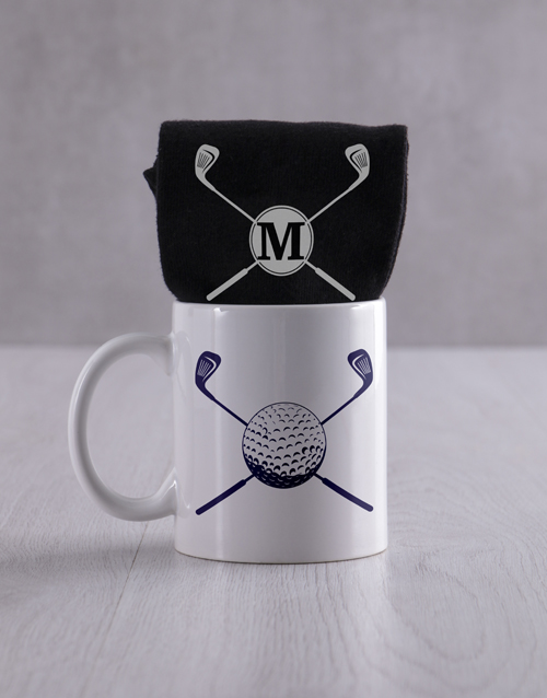 apparel: Personalised Golf Socks And Mug !