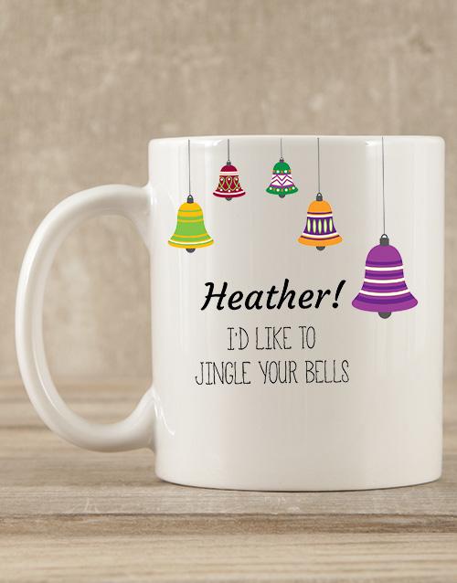 christmas: Personalised Jingle Your Bells Mug Gift!