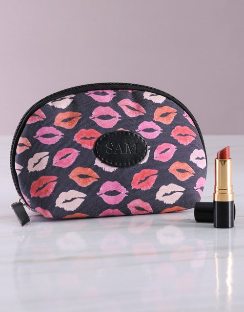 mothers-day: Personalised Kisses Cosmetic Bag!