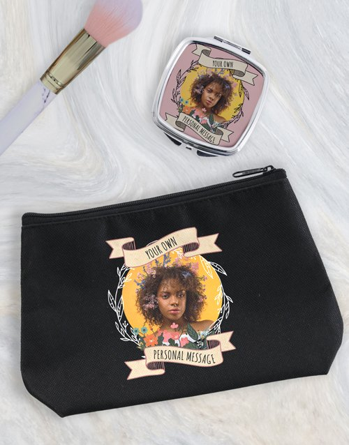 bath-and-body: Personalised Photo Cosmetic Bag!