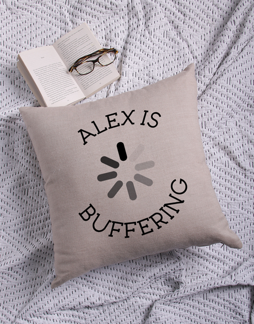 mothers-day: Personalised Buffering Scatter Cushion!