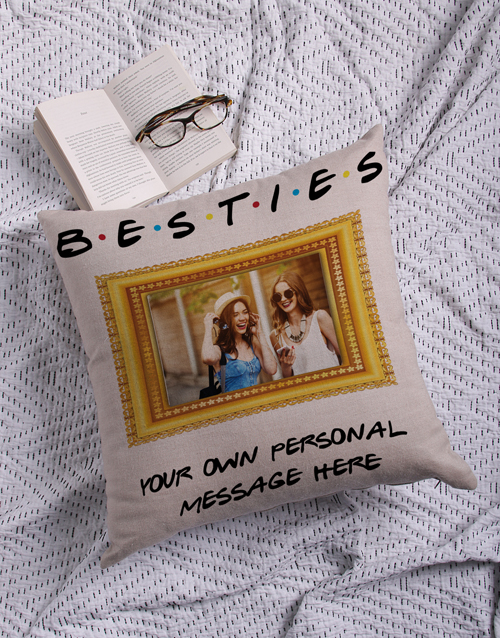 anniversary: Personalised Besties Photo Scatter Cushion!