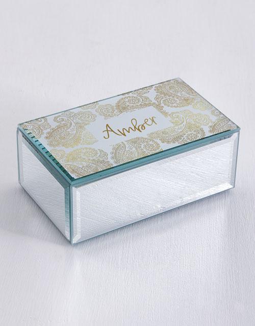 personalised: Personalised Filigree Trinket Box!