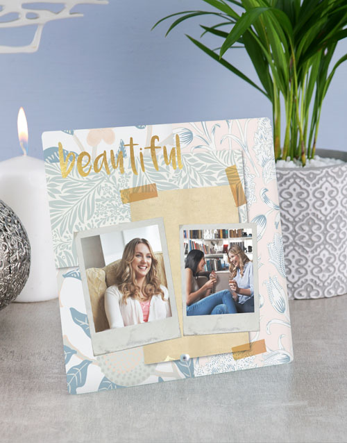 home-decor: Personalised So Beautiful Glass Tile !
