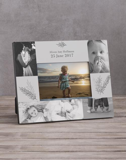 personalised: Personalised Baby Multi Photo Frame !