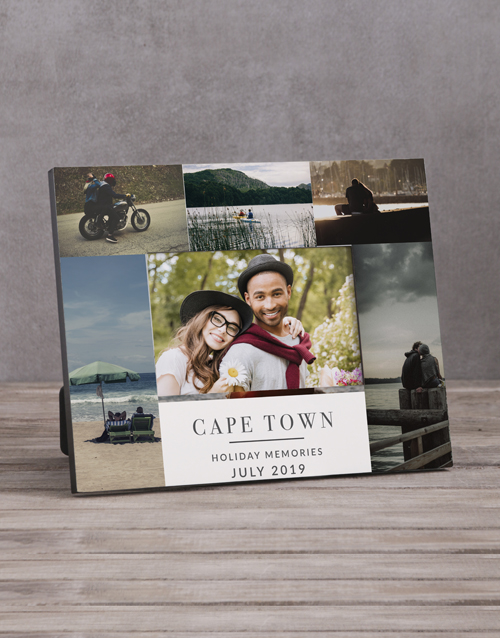 home-decor: Personalised Holiday Multi Photo Frame !
