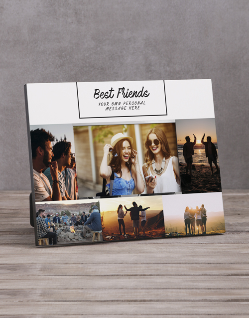 home-decor: Personalised Best Friends Photo Frame !