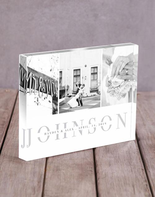 grandparents-day: Personalised Multi Photo Acrylic Block!