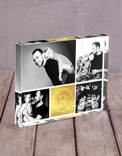 gifts: Personalised Inital Acrylic Block!